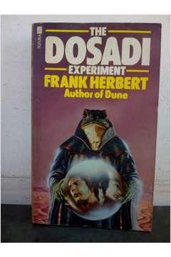 Livro The Dosadi Experiment Autor Frank Herbert (1981) [usado]