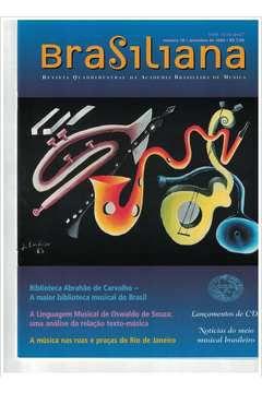 Livro Revista Brasiliana - N° 18 - Ano 2004 Autor Academia Brasileira de Música [usado]
