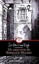 Livro os Arquivos de Sherlock Holmes Autor Sir Arthur Conan Doyle (2011) [usado]