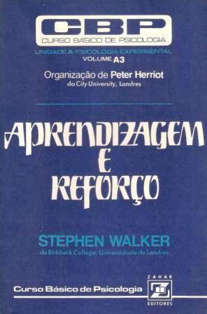 Livro Aprendizagem e Reforço Autor Stephen Walker (1977) [usado]