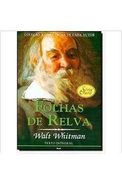 Livro Folhas de Relva Autor Walt Whitman (2008) [usado]
