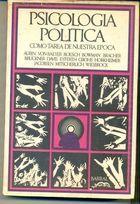 Livro Psicologia Política: Como Tarea de Nuestra Epoca Autor Aurin, Von Baeyer, Boesch e Outros (1971) [usado]
