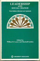 Livro Leadership And Social Change - Third Edition Autor William R. Lassey And Marshall Sashkin (1983) [usado]