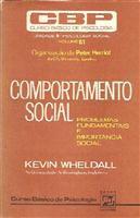 Livro Comportamento Social Autor Kevin Wheldal (1976) [usado]