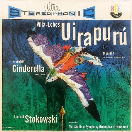 Villa-Lobos, Prokofiev - Ballet Suite - The Stadium Symphony Orchestra Of New York / Leopold Stokowski – 1994 - Uirapurú, Modinha (Prelude), Cinderella