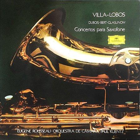 Villa Lobos - Eugene Rousseau - Concertos Para Saxofone