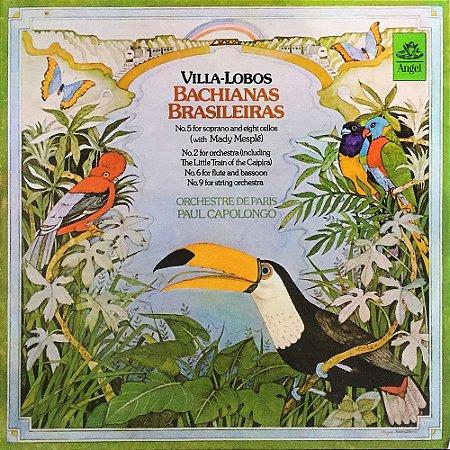 Villa-Lobos - Orchestre de Paris Paul Capolongo - 1973 - Bachianas Brasileiras