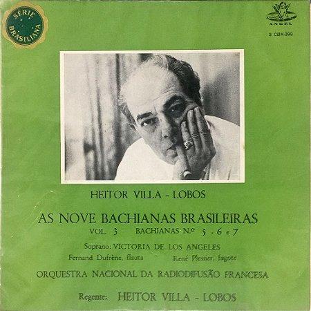 Villa-Lobos - As Nove Baquianas Brasileiras - Vol.03 - Bachianas 5, 6 e 7