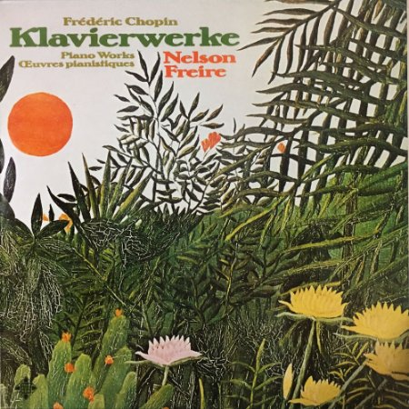 Nelson Freire - Chopin - 1975 - Klavierwerke  Piano Works  Oeuvres pianistiques