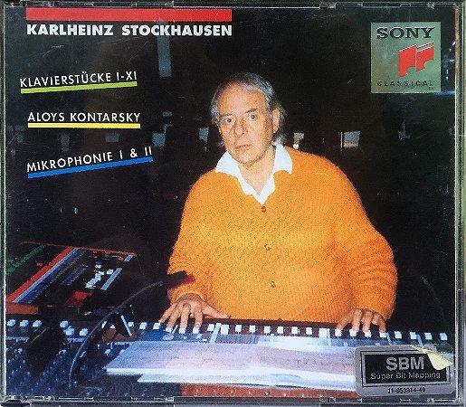 Karlheinz Stockhausen - 1965 - Klavierstucke I - XI - Aloys Kontarsky - Mikrophonie I & II  (2 CDs)