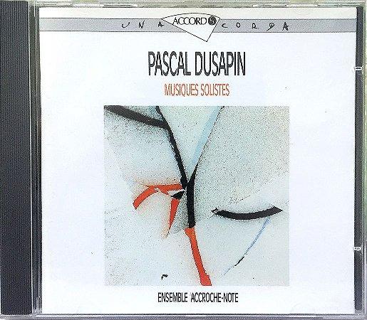 Pascal Dusapin - Ensemble Accroche Note - 1987 - Musiques Solistes