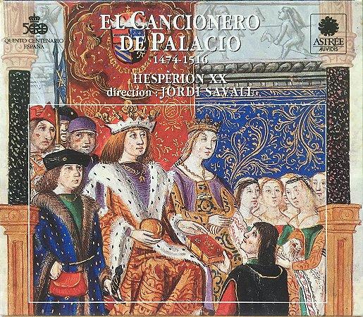 El Cancionero De Palacio 1474_1516 - 1991 - Hespèrion XX  - Direction Jordi Savall