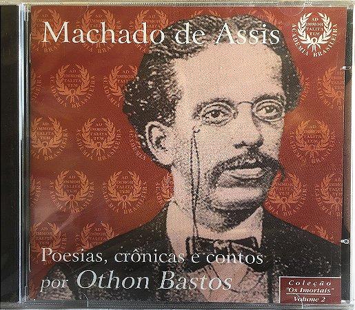 Machado De Assis - 1998 - Poesias - Crônicas E Contos - Por Othon Bastos - NOVO
