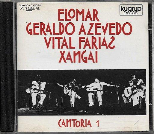 Elomar - Geraldo Azevedo - Vital Farias - Xangai - 1984 - Cantoria 1