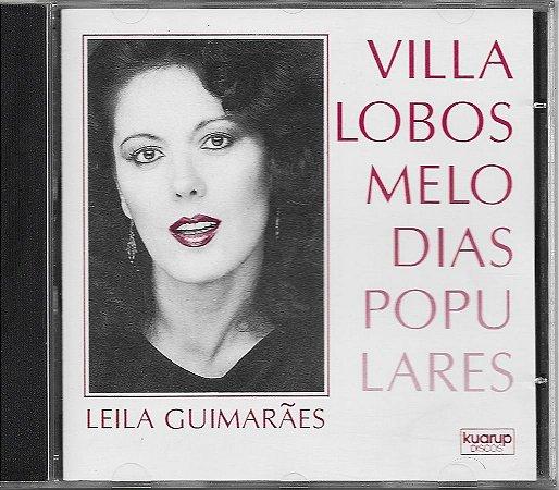Leila Guimarães - 1987 - Villa Lobos Melodias Populares