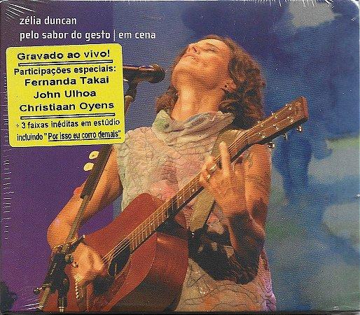 Zélia Duncan - 2011 - Pelo Sabor Do Gesto - Em Cena - NOVO