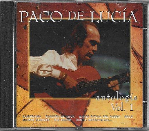 Paco De Lucía - 1995 - Antologia Vol 1 - IMPORTADO