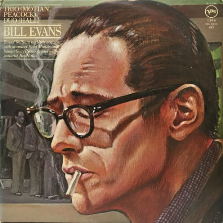 Bill Evans - 1976 - Trio Motian Peacock - Duo Hall