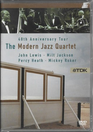 The Modern Jazz Quartet - 1992 - 2006 - 40th Aniversary Tour - DVD
