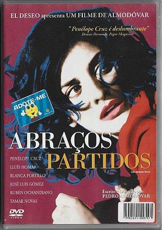 Abraços Partidos - 2009 - Pedro Almodóvar - DVD