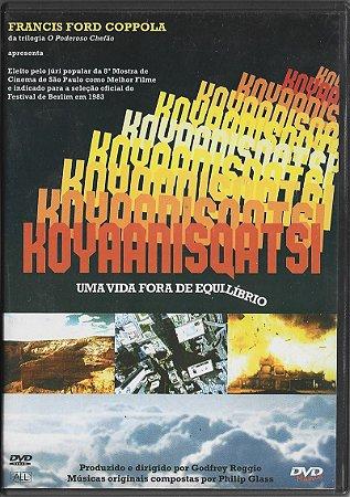 Koyaanisqatsi - Uma Vida Fora De Equilíbrio - 1983 - Francis Ford Coppola - Músicas Originais Compostas Por Philip Glass - DVD