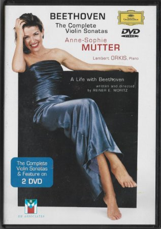 Beethoven The Complete Violin Sonatas - 1999 - 2001 - Anne-Sophie Mutter, Lambert Orkis - 2 DVD