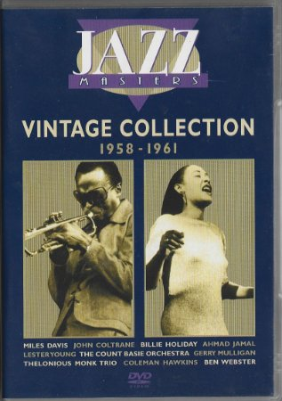 Jazz Masters - 2003 - The Vintage Collection 1958 a 1961 - DVD