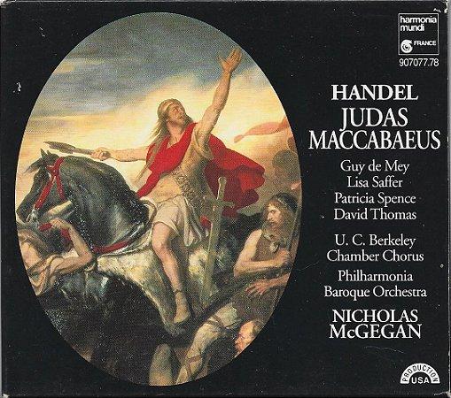 George Frideric Handel 1685-1759 - Judas Maccabaeus - CD