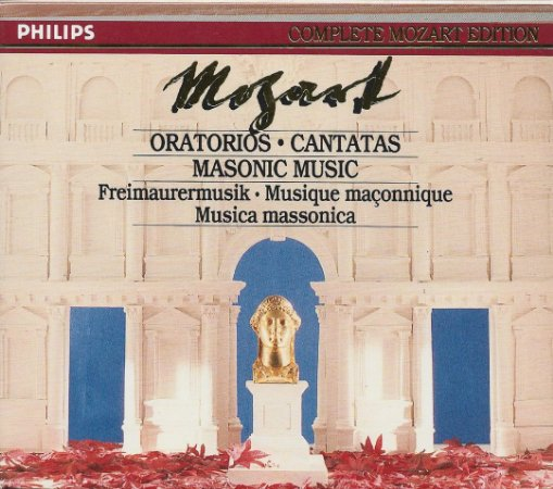 Complete Mozart Edition Vol. 22 - Oratorios Cantatas Masonic Music - 6 CDs