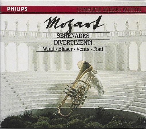 Complete Mozart Edition Vol. 5 - Serenades & Divertimenti - Marriner, Laird, De Waart - 6 CDs