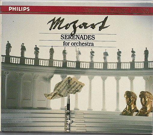 Mozart - Serenades For Orchestra - 7 CDs