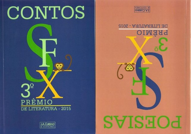 3.º Prêmio SFX de Literatura - Volume único com duas capas