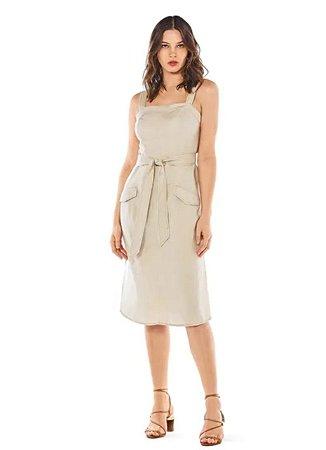 vestido curto decote