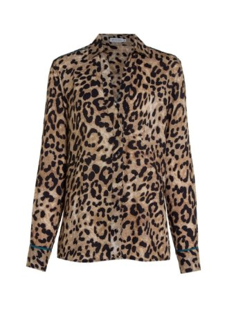 CAMISA ML ANIMAL PRINT FEMININA DUDALINA