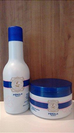 Kit Shampoo e Máscara Pérola Stylishine Eternity Liss 0519