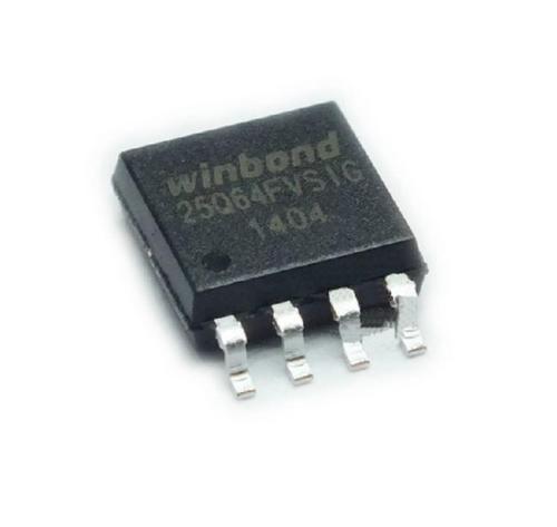 W25q64fvsig Chip Virgem Bios Memoria Flash 25q64