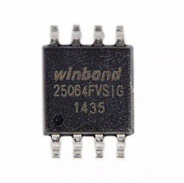 Bios Notebook Winbond W25q64fvsig W25q64 Chip Gravado