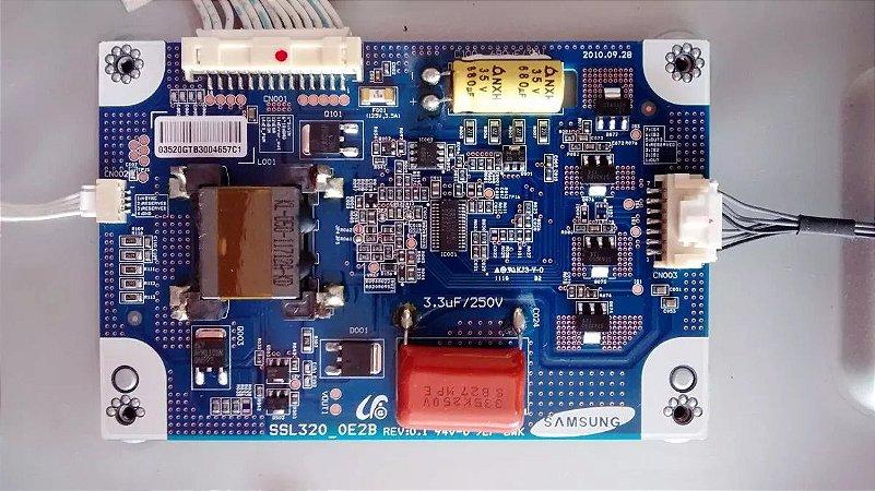 Placa Inverter Tv Sti Le-3250 (b) Wda Ssl320_0e2b Rev.0.1