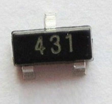 Tl431 Smd Regulador Ajustavel de Precisão Para Fonte