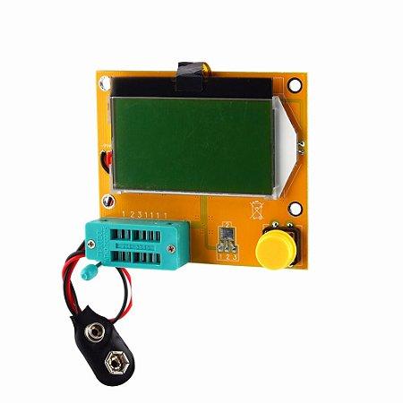 Medidor de Esr Mede a Resistência do Capacitor Diodo Transistor Mosfet