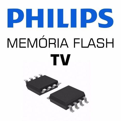Memoria Flash Tv Philips 46pfl3008d/78 Chip Gravado