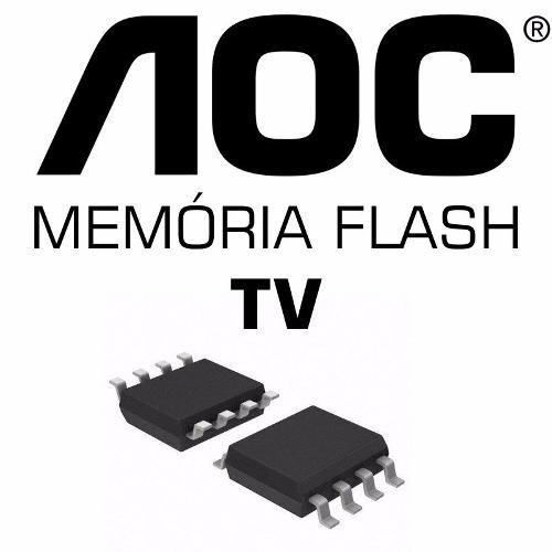 Memoria Flash Tv Aoc Le32d5520 Chip Gravado