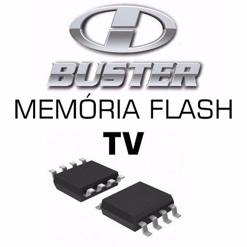 Memoria Flash Tv Hbuster Hbtv-3201hd Chip Gravado