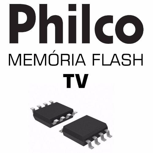 Memoria Flash Tv Philco Ph24d20dg (a) Chip Gravado