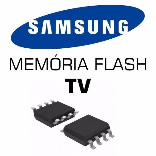 Memoria Flash Tv Samsung Un50f5500 Ic1304 Chip Gravado