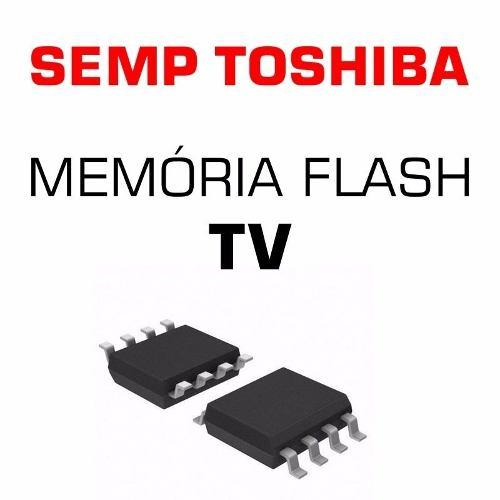 Memoria Flash Tv Semp Le3973f Chip Gravado