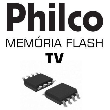 Memoria Flash Tv Philco Ph24d20dm2 Chip Gravado