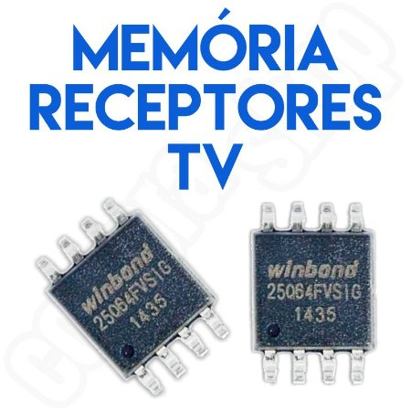 Memória Flash Receptores Digitais de Tv Temos Vários Modelos