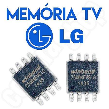Memoria Flash Tv Lg 32lm3400 Ic1401 Chip Gravado