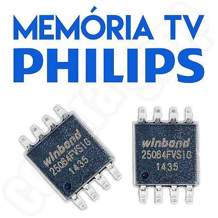 Memoria Flash Tv Philips 220ts2l Chip Gravado